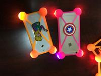 Universal 3D Cartoon LED Lamp Bumper Case Minions Luminous L...