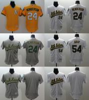 Drop Shipping Men' s Elite Oakland Athletics #54 Sonny G...