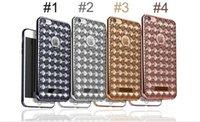 Para Iphone 6 más la caja del teléfono de Shell electrochapada del diamante TPU ultra fino de la contraportada para el iPhone 6
