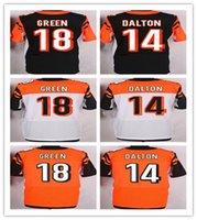 2016 Elite football jerseys Bengals #14 Andy Dalton #18 AJ G...
