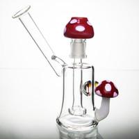 5 pouces Bongs Plateaux de verre Huile Dab Brûleur à mazout Tubes en verre d'eau Bongs d'eau colorés avec 14mm femelle Joint Dôme en verre et ongles