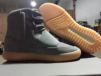 2016 Final Version Boost 750 Kanye West Boost Shoes Glow Gum...