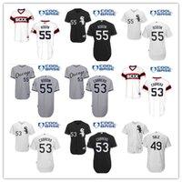 Baseball Jerseys 55 Carlos Rodon White Black Strip Stitched ...