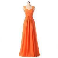 2017 Vintage Orange Lace Long Evening Dresses With Illusion ...