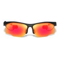 LY-83 Bluetooth occhiali da sole della cuffia polarizzati occhiali wireless Bluetooth 4.0 auricolare CVC 6.0 cancellazione del rumore a mani libere w / Mic V2223
