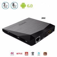 2017 M96X Amlogic S905X Android TV Box OS 6. 0 2G 8G Quad- cor...