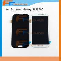 Écran tactile Écran tactile Montage numérique pour Samsung Galaxy S4 i9500 i9505 M919 L720 i545 R970 i337 Blanc bleu