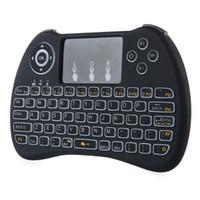 Wireless PC Wireless Backlit Keyboard rii i8 H9 Keyboards Fl...