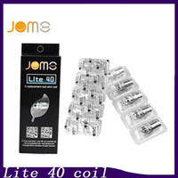 100% Véritable JOMO Lite 40 Sub Ohm Coil Replacement Jomotech Cigarette Head Coil pour Jomo Lite 40W Kit 0266093-1