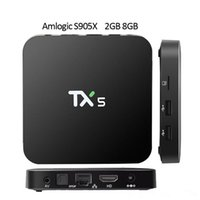 TX5 Android 6. 0 TV BOX 2G 8G Amlogic S905X Media Player HD 4...