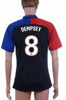 RED USA Away Soccer Jersey USA #10 Donovan Soccer Set All Ne...