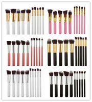 2016 Pincel Maquiagem Kabuki Style Maquillage Professionnel Brosses Outils Ensembles Maquillage Pleine Cosmetic Brush Eyeshadow Lip Face Powder free Epacket