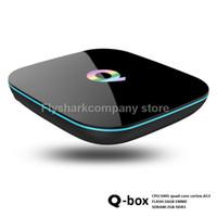 2016 New Q- box Amlogic S905 Android Tv Box 2G 16G USB HDD 10...