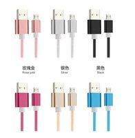 3 pies de alto 1M Cable USB Micro USB 2.0 Cable de sincronización de datos cable del cargador para el teléfono inteligente Android nota 5 Xiaomi DHL