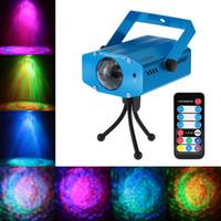 LIXADA 10W Cambiare colore Water Wave Mini LED Ripple Effect fase della luce della lampada con Controller per Disco KTV Club Party L0956
