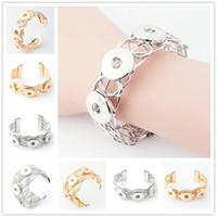 NOOSA NOSA Chunk Metal Snap Button Charm Bracelet Interchang...