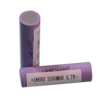 Свободная перевозка груза 18650F1L 3350mah 3.7v цилиндрическая батарея 18650 3350mah литий-ионный аккумулятор для питания банка