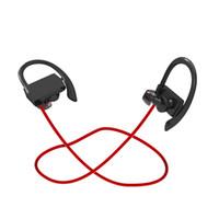 Casque sans fil avec écouteurs pour le gymnase (Bluetooth 4.1, IPX4, 6 heures de jeu)