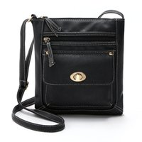 Leather Square Crossbody Shoulder Bag Women Retro Collection...