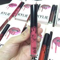 Kylie Lip Kit by kylie jenner Velvetine Liquid Matte Lipstic...