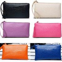 Lady Woman PU Clutch Bag Handbag Coin Purse key Case Debris ...