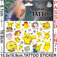 Hot Poke Tattoo Sticker Temporary Tattoo Stickers Fashion Ca...