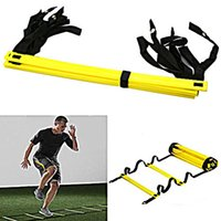 Durable 9 Rung Agility Ladder for Football Soccer Speed Trai...