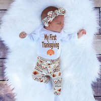 newly baby retro Sets Newborn Toddler Infant Kids rompers+ pa...