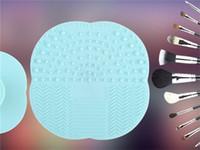 BRUSH NETTOYAGE MAT Chuck Scrubbing Pad Le nouveau Wash Pad Maquillage Brosse pour nettoyer le Pad Le Maquillage Clean Pad Brush Livraison gratuite chaud