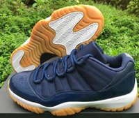 2016 Retro XI 11s NAVY GUM Low Basketball Shoes 11' s Sp...