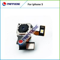 Pièces de rechange d'origine Retour arrière Caméra Cam Avec Flash Module Flex Ribbon Cable For iPhone 5 5G