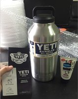 64oz YETI Rambler 304 Stainless Steel Cups Large Capacit Coo...