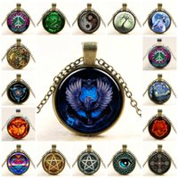 Necklace Pendants for Women Steampunk Dant Necklace Glass Do...