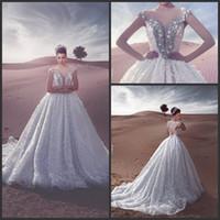 2016 Дешевые бальное платье пляж кружева Свадебные платья Милая Длинные Trian Плюс Размер Свадебные Свадебные платья
