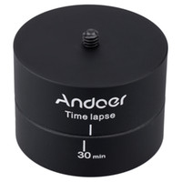 Adattatore Treppiede Andoer Panoramica Rotating Time lapse stabilizzatore per GoPro DSLR D1186
