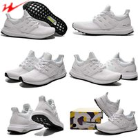 Hot Sale Free Shipping 2016 Ultra Boost White Black Womens M...