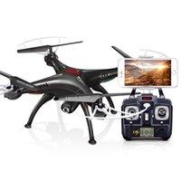2017 SYMA X5SW WIFI caméra RC Drones Quadcopter avec caméra FPV Headless 4-Axis en temps réel RC Helicopter Quadcopter caméra drones