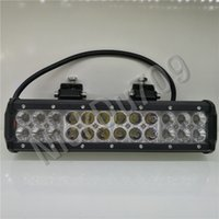 12Inch 72W Automotive Led Lamps Work Lights Bar For Trucks L...