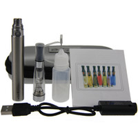 Cigarette CE4 eGo Starter Kit E-Cig électronique kit Zipper Case Kit Simple avec CE4 atomiseur et 650mAh 900mAh 1100mah Ego T batterie DHL