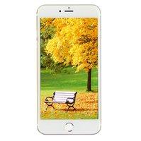 256GB 128GB сенсорный ID Goophone i7 Plus V3 3G WCDMA Quad Core MTK6580 Android 6.0 5,5-дюймовый IPS 1280 * 720 HD сканер отпечатков пальцев WiFi смартфон