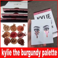 Kylie Jenners the Burgundy Eyeshadow palette Kylie Jenner Co...