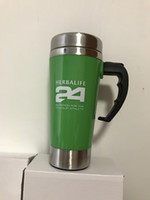 2017 New Herbalife Nutrition Water Bottle 450ML Green Stainl...