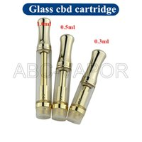 Glass cbd oil cartridge atomizer, new products 2016 hottest c...