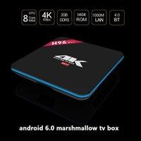 H96 PRO Gigabit Ethernet Android 6. 0 TV Box H96 Kodi Amlogic...