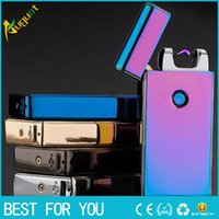 electronic cigarette lighter Usb charging ultra- thin windpro...