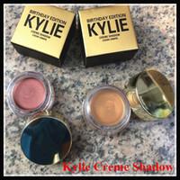 2016 Ombre Copper Mode et populaire Kylie Jenner Cosmetics anniversaire Édition Creme + Or Rose 2 couleurs Livraison gratuite