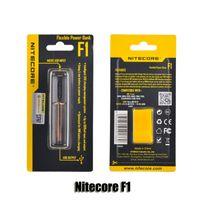100% Original Nitecore F1 Flexible Intellicharger E Cigarettes batterie Chargeur pour 18650 18500 14500 26650 Li-on IMR Batteries