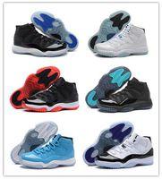 Wholesale 2016 Gamma Blue CONCORD Retro XI 11 Basketball Sho...