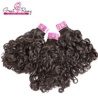 3pcs Brazilian curly hair weave natural hair weavings 10- 30 ...