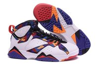 Retro VII 7 CIGAR Sports Basketball Shoes Work Red retro 7s ...